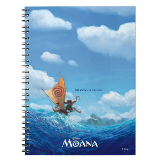 Moana | The Ocean Is Calling Notebook
