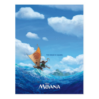 Moana | The Ocean Is Calling Postcard