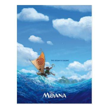 Moana Moana   The Ocean Is Calling Postcard