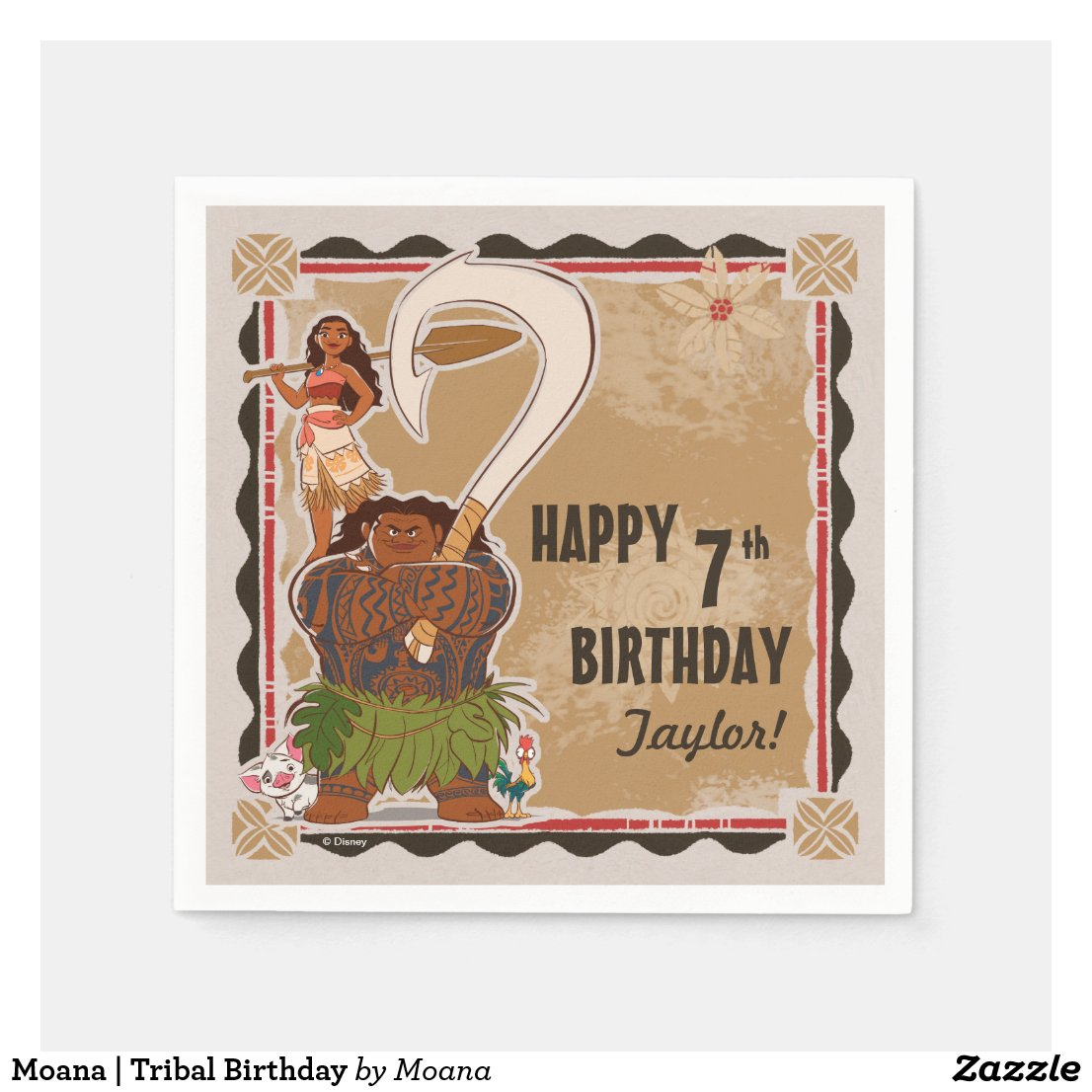 Moana | Tribal Birthday
