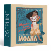 Moana   True to Your Heart 3 Ring Binder