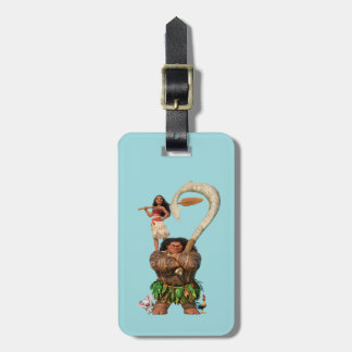 Moana | True To Your Heart Bag Tag