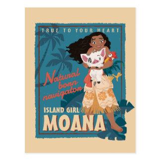 Moana | True to Your Heart Postcard