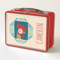 Moana | Vintage Heihei Metal Lunch Box