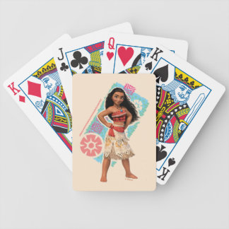Moana | Vintage Island Girl Bicycle Playing Cards