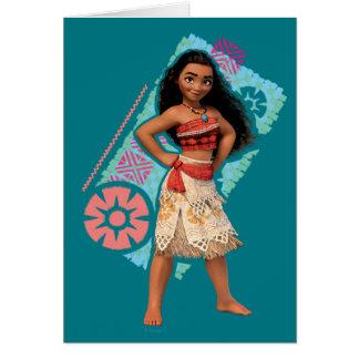 Moana | Vintage Island Girl Card