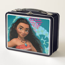 Moana | Vintage Island Girl Metal Lunch Box