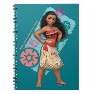 Moana | Vintage Island Girl Notebook