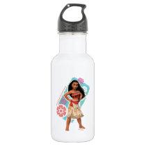 Moana | Vintage Island Girl Stainless Steel Water Bottle