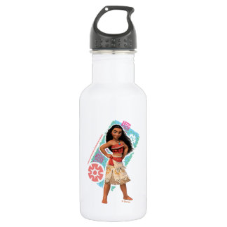 Moana | Vintage Island Girl Stainless Steel Water Bottle