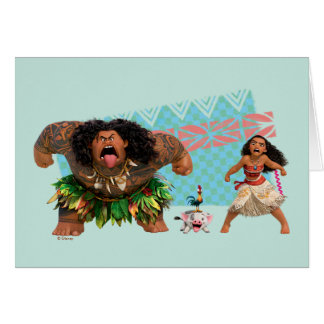 Moana | We Are All Voyagers Card