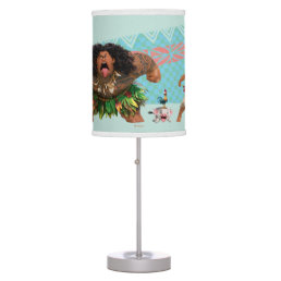Moana   We Are All Voyagers Desk Lamp