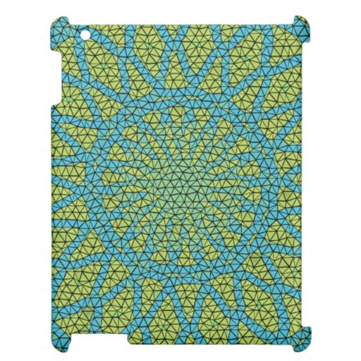 Moasic amarillo azul
