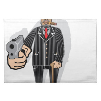 Mob Boss Cloth Placemat