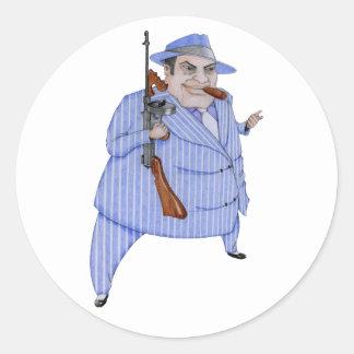 Mob Boss Sticker