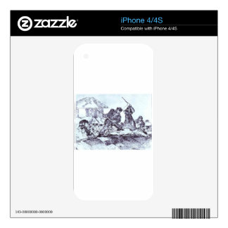 Mob by Francisco Goya Decals For The iPhone 4S