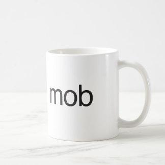 mob classic white coffee mug