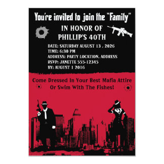 Mob Party Card