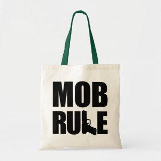 Mob Rule Hand Gun Tote Bag