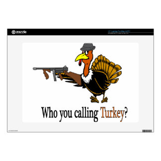 """mob turkey decal for 15"""" laptop"""