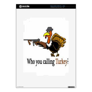 mob turkey iPad 2 decals