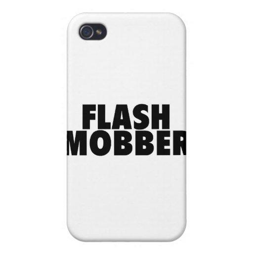 Mobber de destello iPhone 4 carcasa