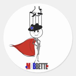 Mobbette Stickers