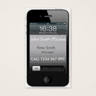 Mobil Phone Business card