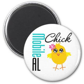 Mobile AL Chick 1 Magnet