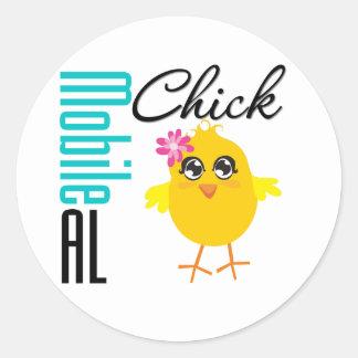Mobile AL Chick 1 Stickers