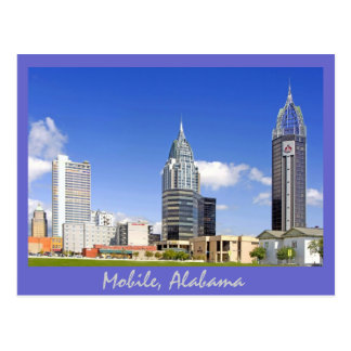 Mobile, Alabama Postcard
