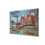 Mobile, Alabama (River Scene) Canvas Print