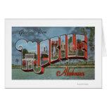 Mobile, Alabama (River Scene) Card