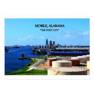 MOBILE, ALABAMA - The Port City Postcard