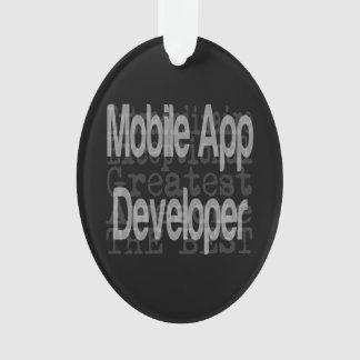 Mobile App Developer Extraordinaire Ornament