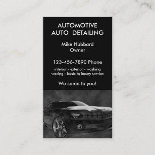 Auto Detailing Business Cards Zazzle