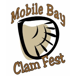 Mobile Bay Clam Fest shirt