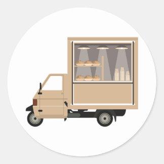 Mobile Coffee Van Stickers