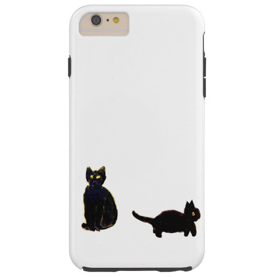 Mobile Cover Cute Black Cats
