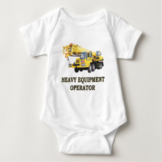 MOBILE CRANE BABY BODYSUIT