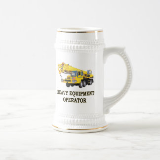 MOBILE CRANE BEER STEIN