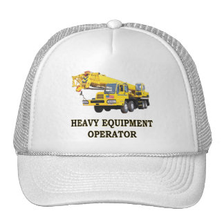 MOBILE CRANE TRUCKER HAT
