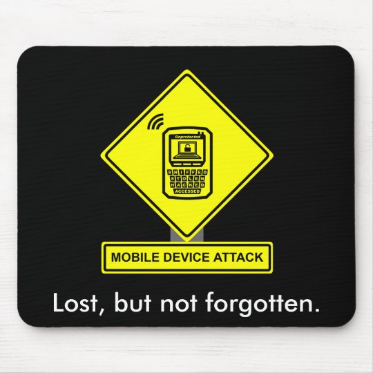 Mobile Device Attack Mousepad