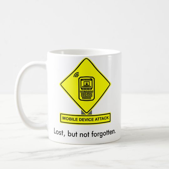 Mobile Device Attack Mug