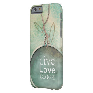 Mobile Device Cases with Vintage Distressed Live, Barely There iPhone 6 Case