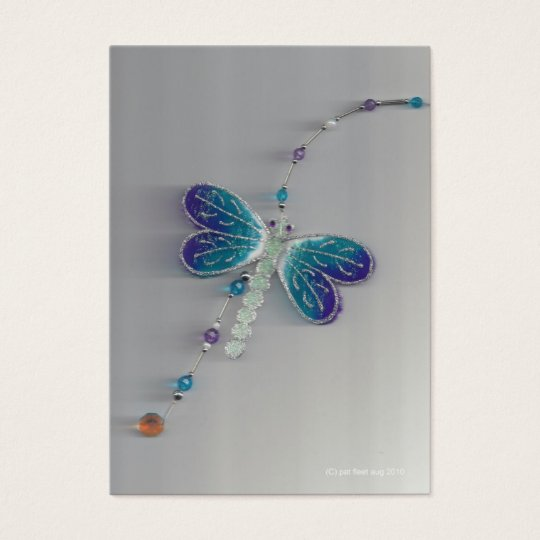 mobile dragon fly business card
