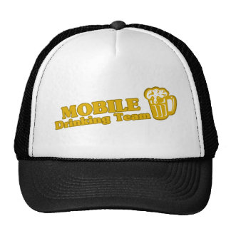 Mobile Drinking Team tee shirts Hat