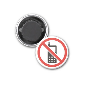 Mobile Free Zone Magnet