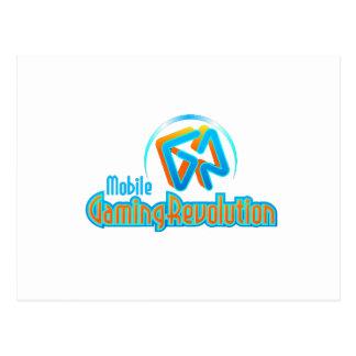 Mobile Gaming Revolution Postcard