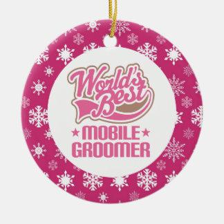 Mobile Groomer Ornament Gift